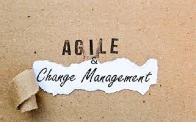 What is missing in driving change management in an agile setting?