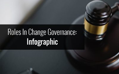 Roles in change governance: Infographic