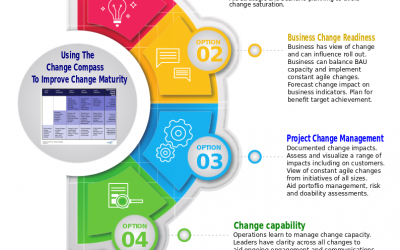 Using The Change Compass to improve change maturity