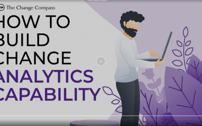How to build change analytics capability video